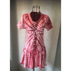 Super cute tie dye dress.